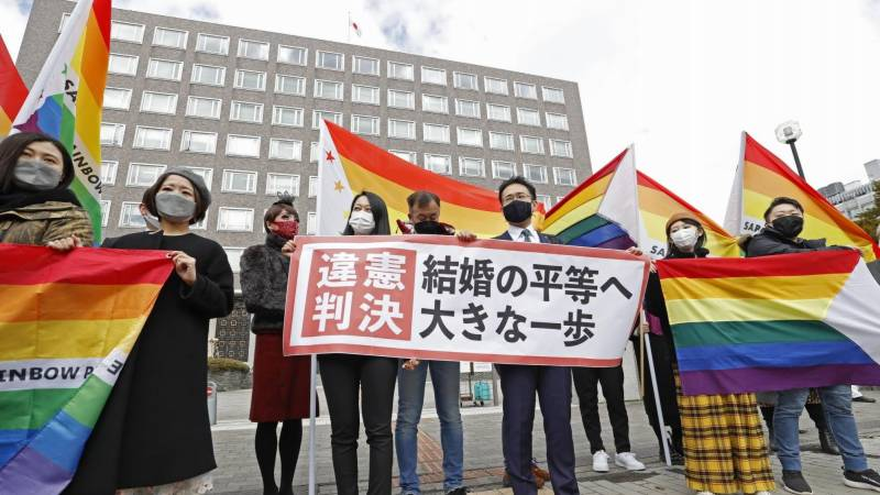Japan's failure to recognise same-sex marriage unconstitutional: court