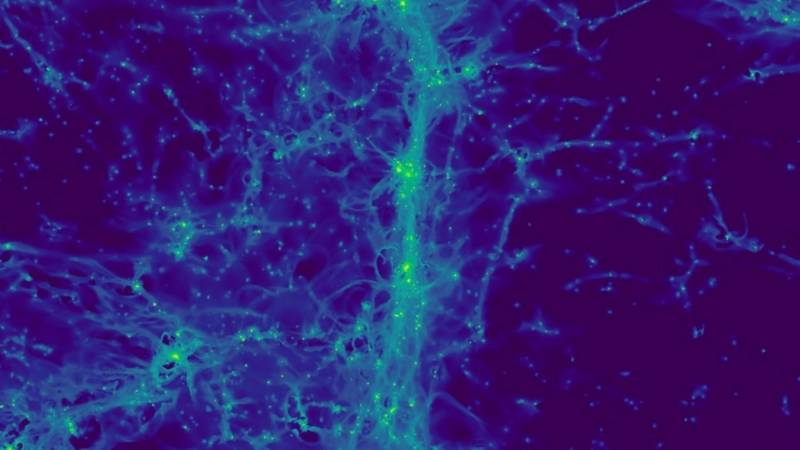 Images of 'cosmic web' reveal maze of dwarf galaxies