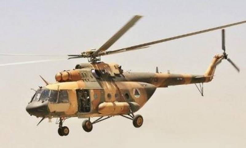 Nine killed as Afghan army helicopter shot down