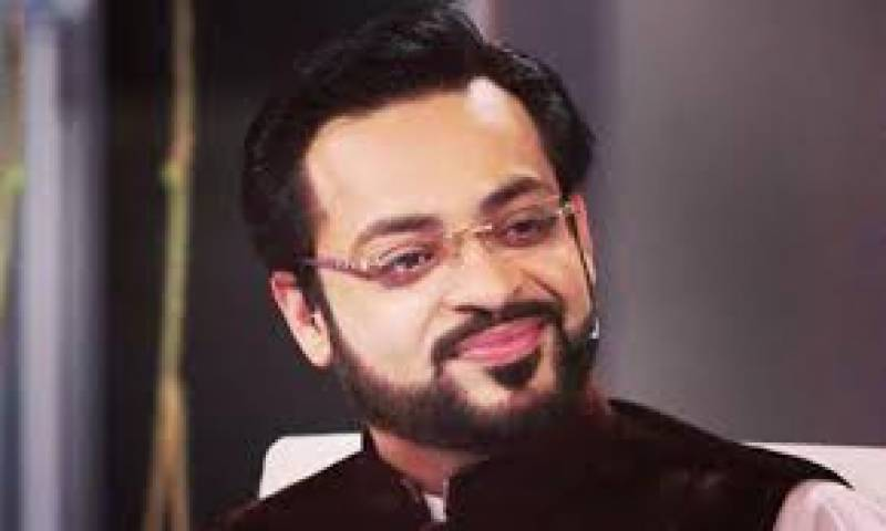 Aamir Liaquat gets flak for 'sexual harassment' suggestion to topple PTI govt