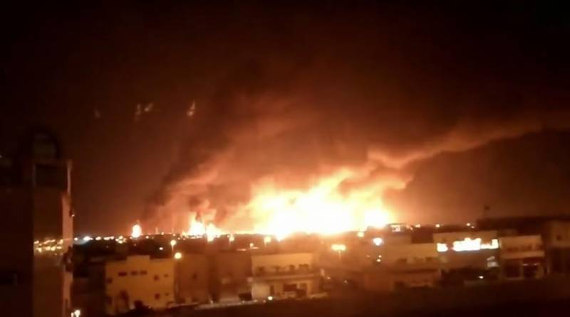Drone attack sparks fire at Riyadh oil refinery: Saudi ministry