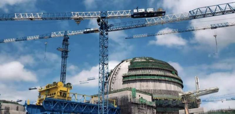 Nuclear power plant K-2 connected to national grid