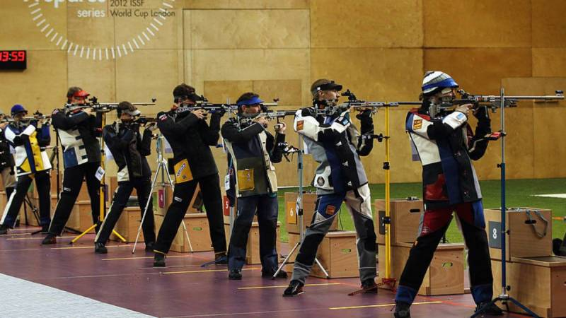 Six shooters positive for Covid at World Cup in India