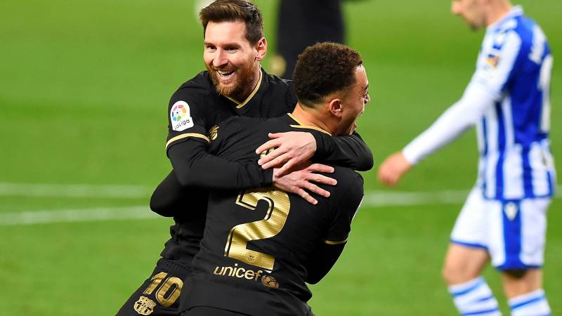 Messi on song as Barca thrash Sociedad, Atletico edge past Alaves