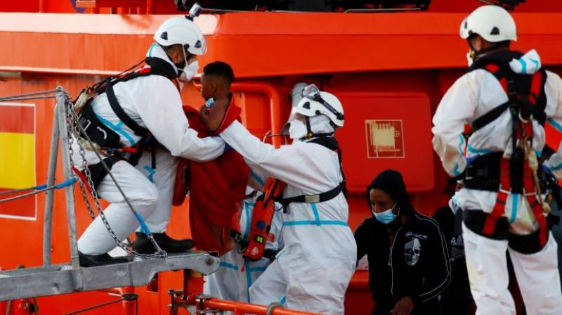 Two years old migrant girl dies in Spain after sea rescue