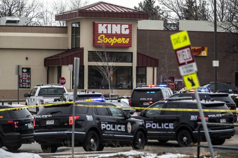 10 massacred in shooting at US grocery store