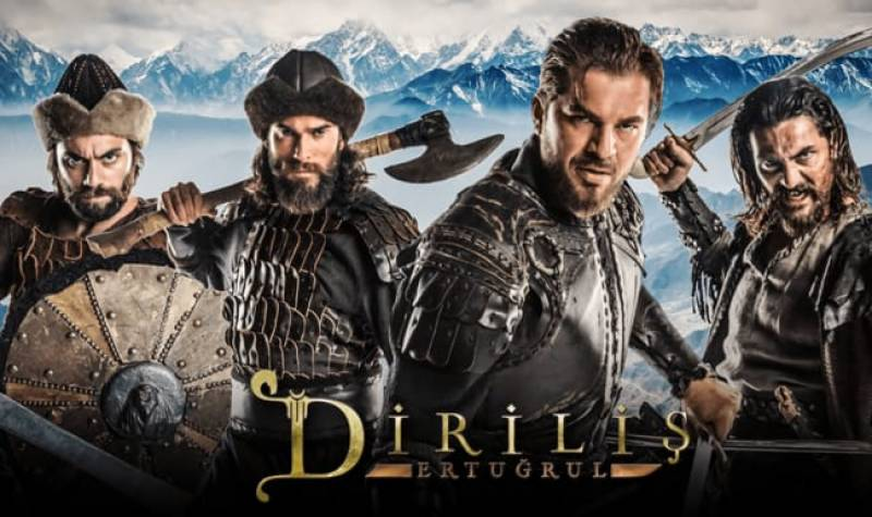 Ertugrul and his alps wish fans Happy Pakistan Day!