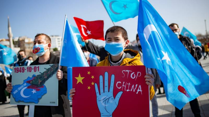 US hits two Chinese officials with sanctions over Uighur abuses