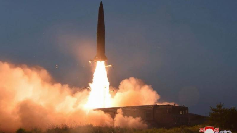North Korea fires two missiles in first test under Biden
