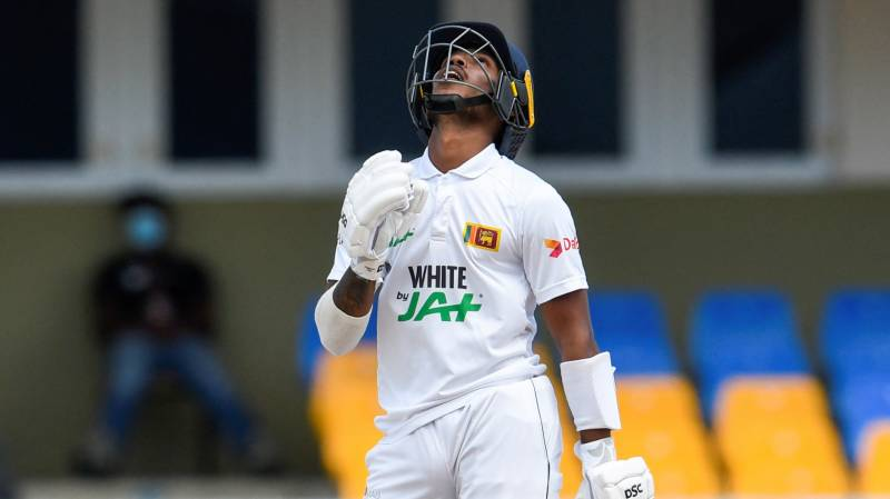 Nissanka stars as Sri Lanka build lead over Windies to 257