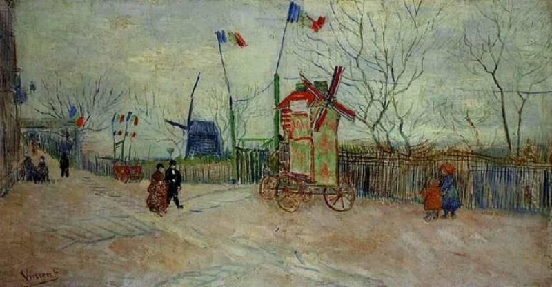 Rare Van Gogh painting of Paris up for auction