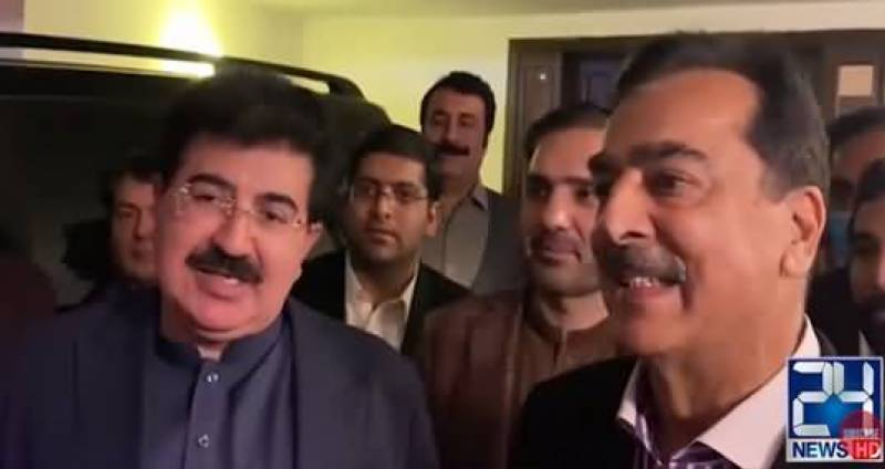 Yousaf Raza Gilani appointed as Leader of the Opposition in Senate