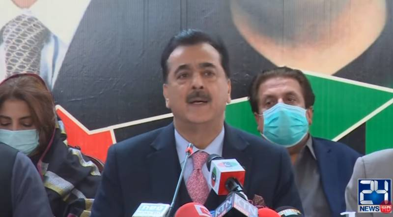 Leader of the opposition in Senate PPP's right: Gilani