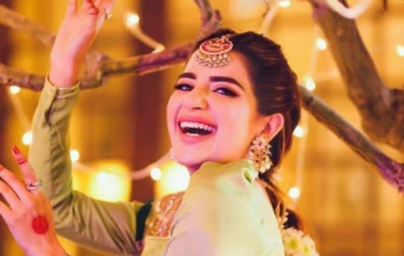 Saboor Aly wins hearts after her latest bhangra video