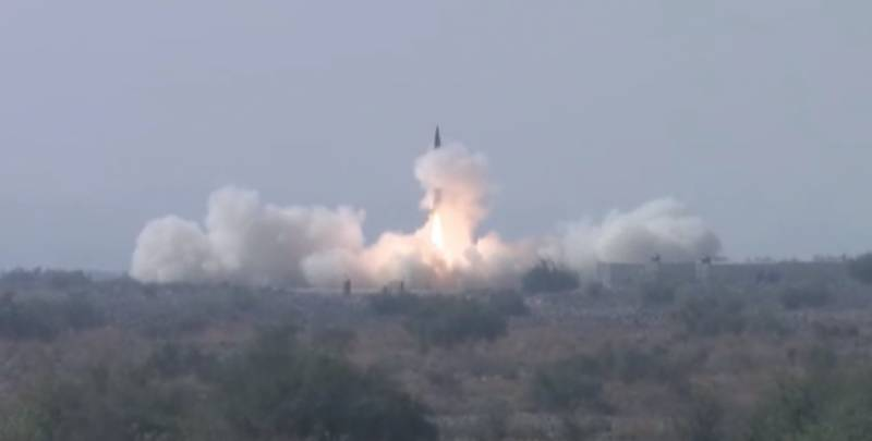 Shaheen ballistic missile test-fired