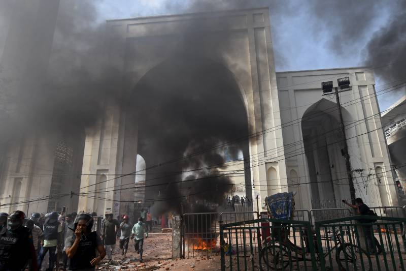 Anti-Modi protests sweep Bangladesh as deaths rise to five