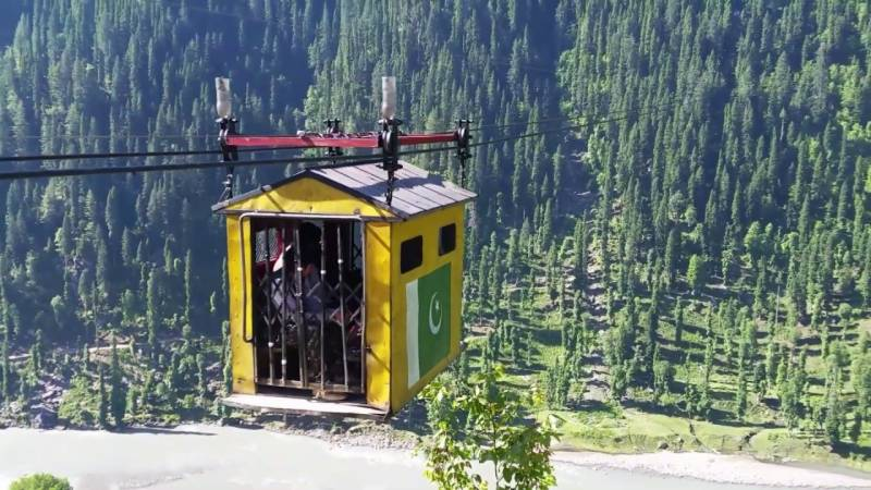 Seven rescued from stuck dolly lift in KP