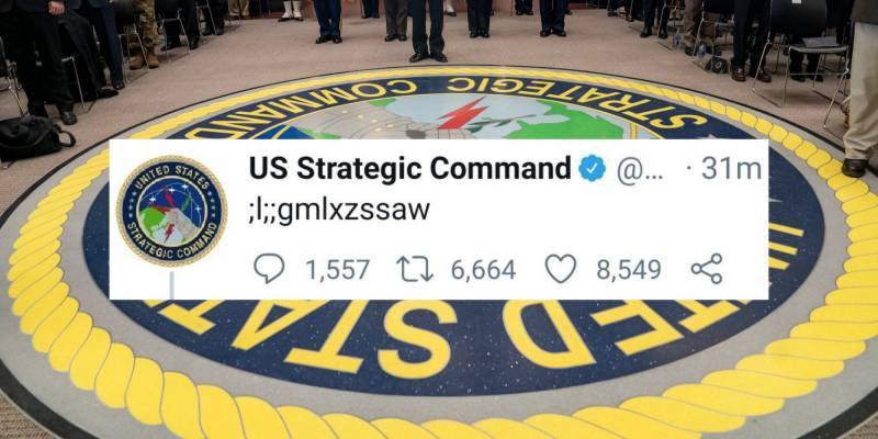 Child unknowingly tweets from US nuclear command's account