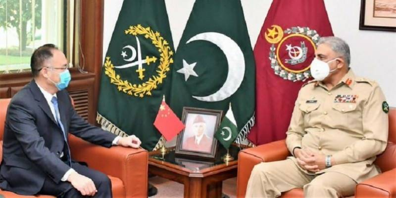 Emirati, Chinese, Canadian, Danish ambassadors call on Gen Bajwa