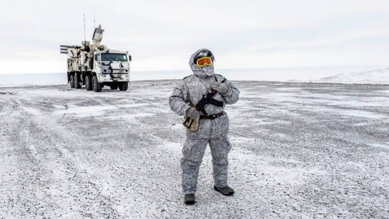 Russia stages fresh military drills in the Arctic