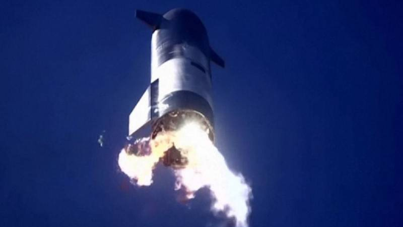 SpaceX Starship rocket test ends in another failure: Musk