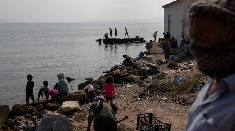 'We are suffocating': Migrants in Lesbos camp appeal for help