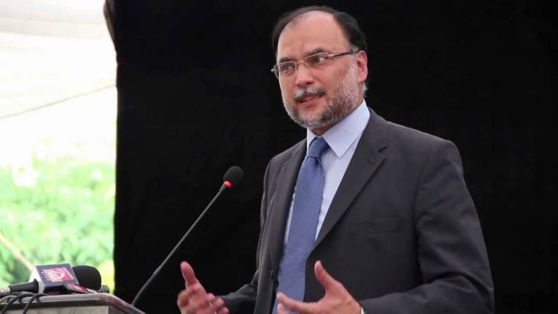 Ahsan Iqbal chides government over restoring trade with India