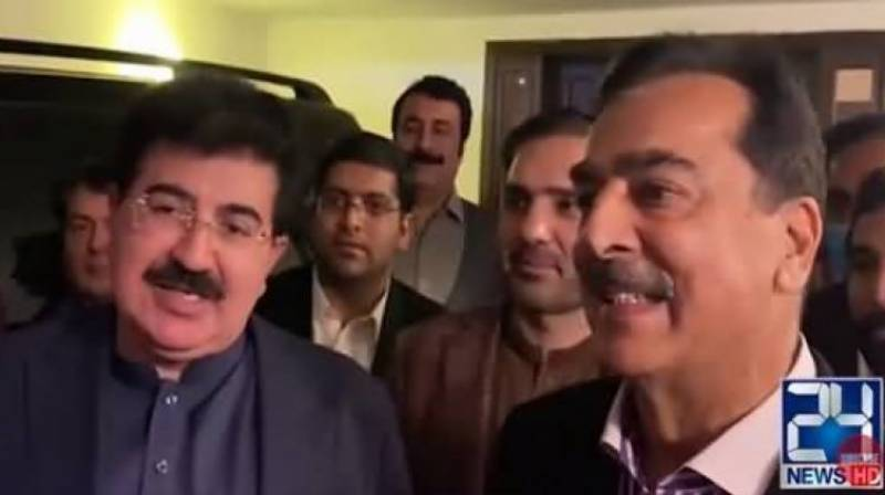 PML-N refuses to acknowledge Gilani as opposition leader in Senate