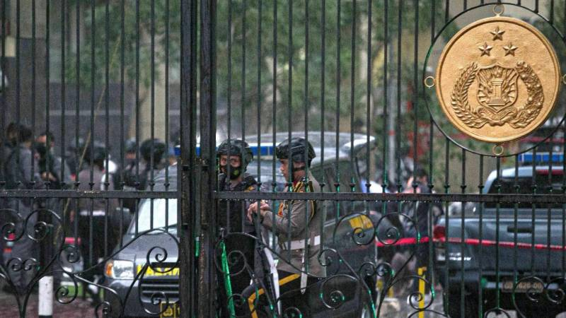 Shootout at Indonesia's national police headquarters: media