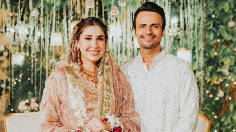 Actor Usman Mukhtar ties knot with Zunaira Inam in Islamabad