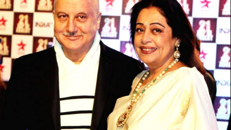 Anupam Kher says wife Kirron diagnosed with blood cancer