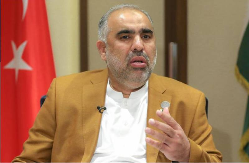 Pakistan to continue support peaceful political solution in Afghanistan: Asad Qaiser