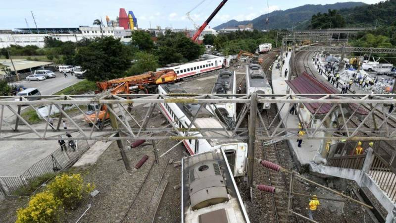 Taiwan accident
