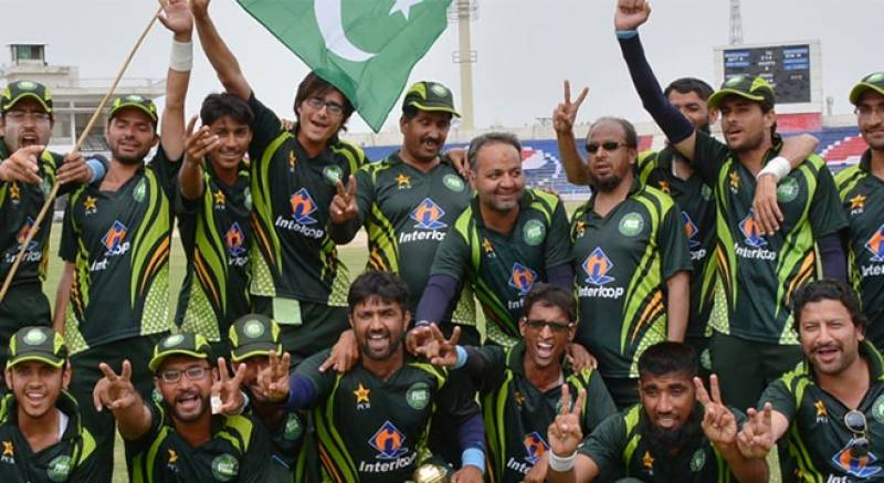Pakistan blind cricket team outclass India in tri-series final
