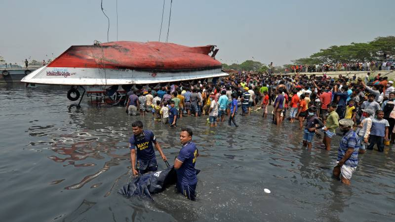 Bangladesh ferry disaster death toll hits 26