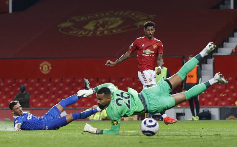 Man United bounce back to beat Brighton, Spurs held by Newcastle