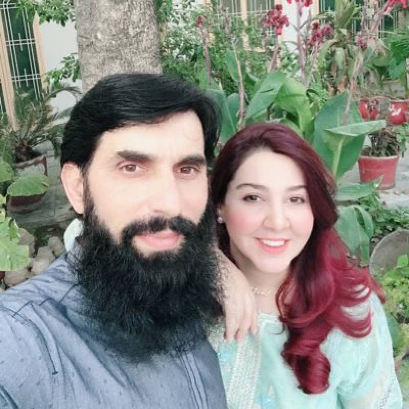 Misbah's wife does something unbelievable!