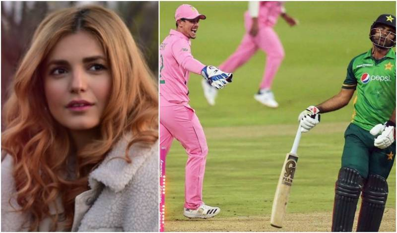 Momina Mustehsan sings support for Fakhar Zaman over De Kock trick