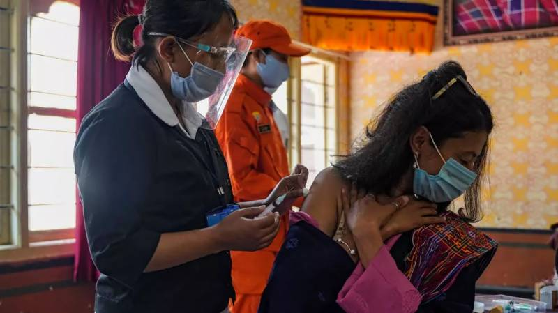 Bhutan vaccinates 60% of population in record time