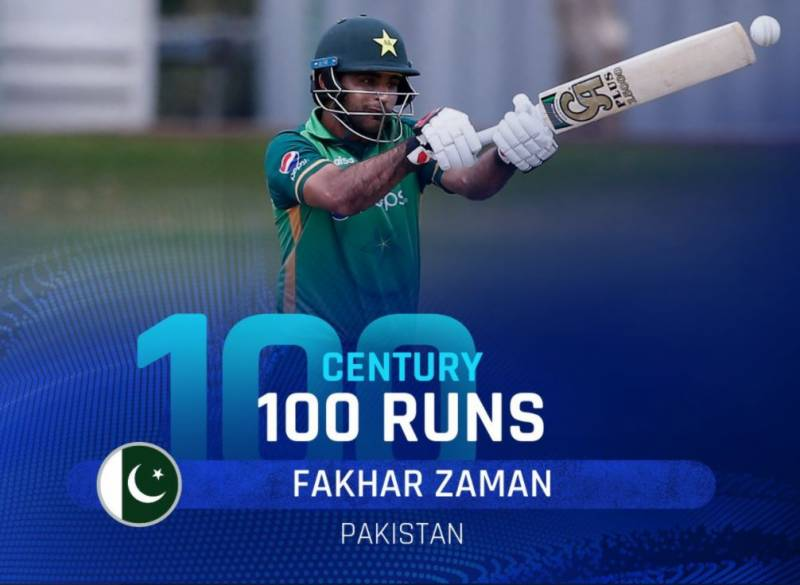 Fakhar set to break into Top 10 ODI batsmen rankings after second ton in a row!