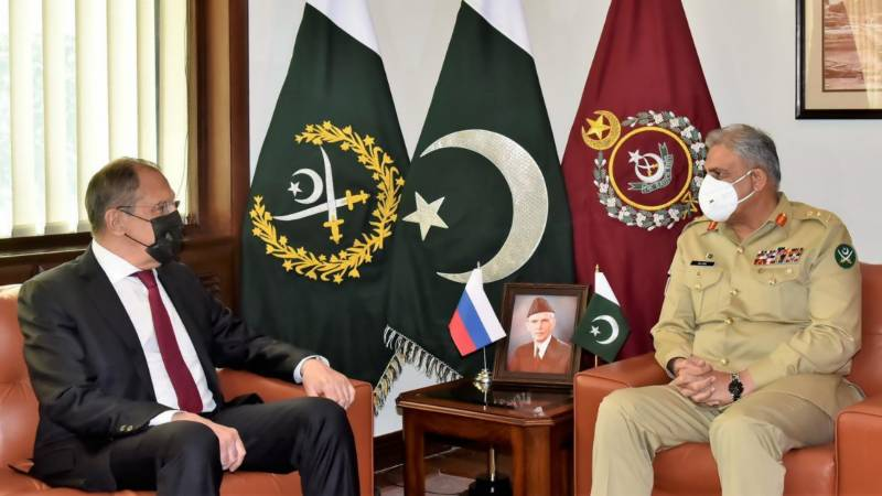Russian Foreign Minister calls on COAS