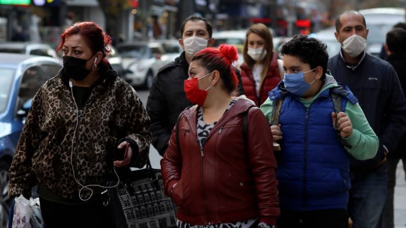 Turkey records most infections since pandemic's start