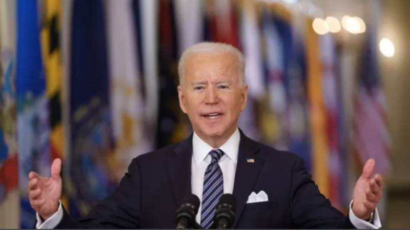Biden says huge infrastructure plan needed for US to lead the world