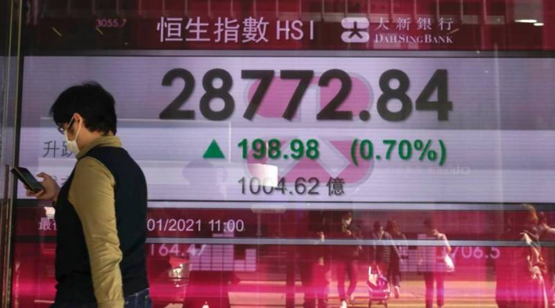 Asian markets mostly down but optimism remains