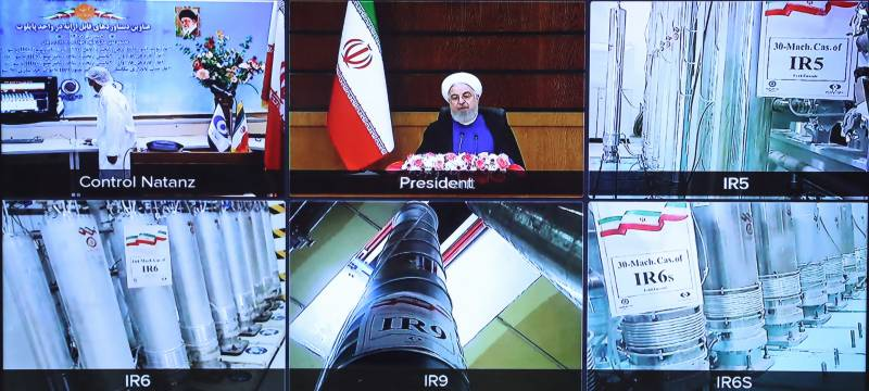 Iran starts up advanced centrifuges in nuclear deal breach