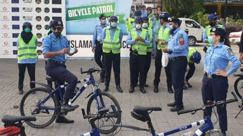Islamabad Police launches Bicycle Patrol Unit