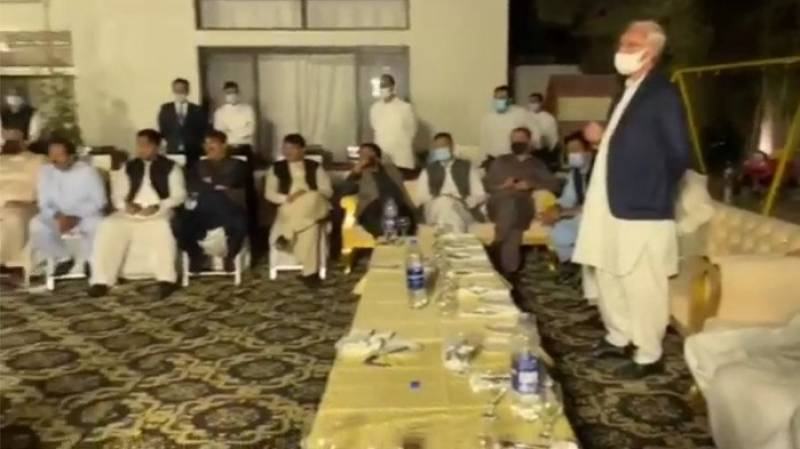 29 disgruntled PTI leaders attend dinner hosted by Jahangir Tareen