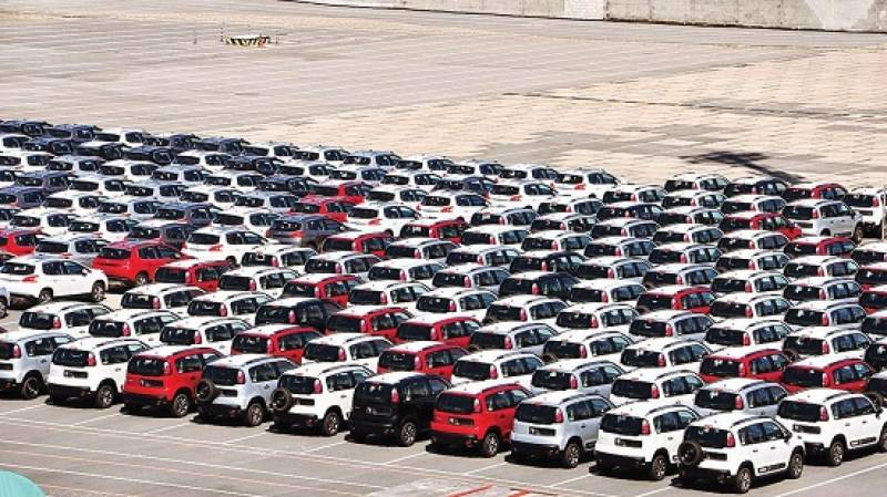 Sale of cars up by 200 percent in March 2021