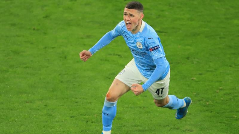 Foden fires Man City into Champions League semi-final clash with PSG