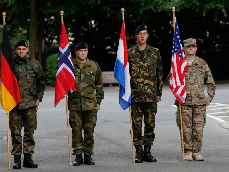 NATO allies 'stand' with US on Russia sanctions